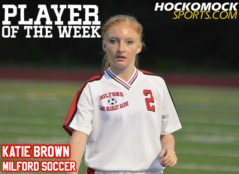 Player of the Week Katie Brown
