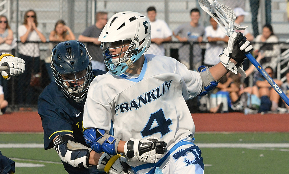Franklin's Austin Kent will be one of the top players in the league this season. (Josh Perry/HockomockSports.com)