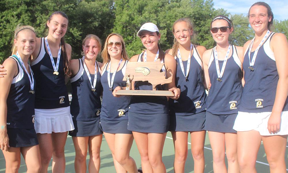 Foxboro girls tennis