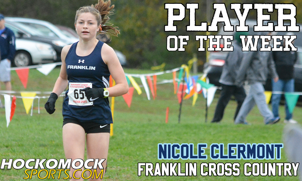 "now a senior at FHS, Nicole Clermont was named ""Player of the Week"" in October 2016"