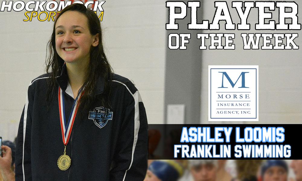 Franklin junior Ashley Loomis = HockomockSports.com Player of the Week