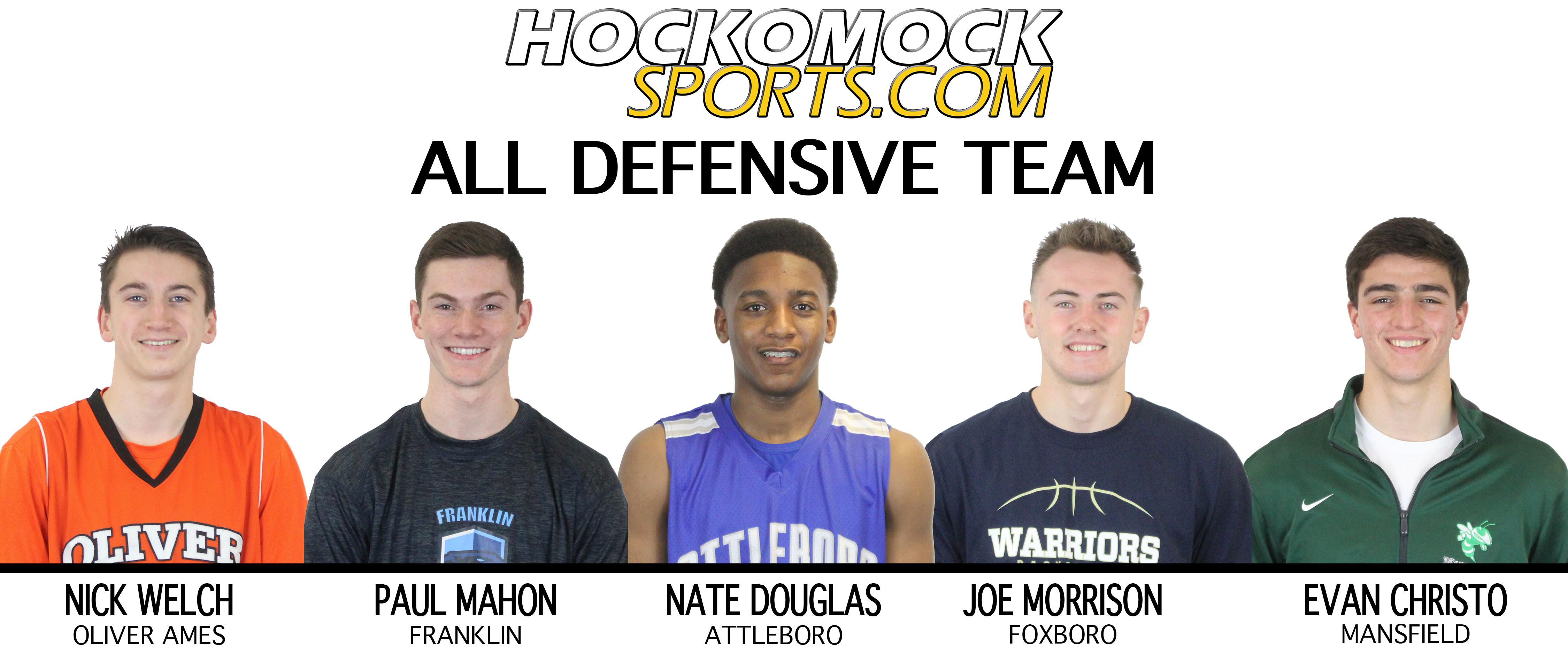 2017 HockomockSports Boys Basketball Awards