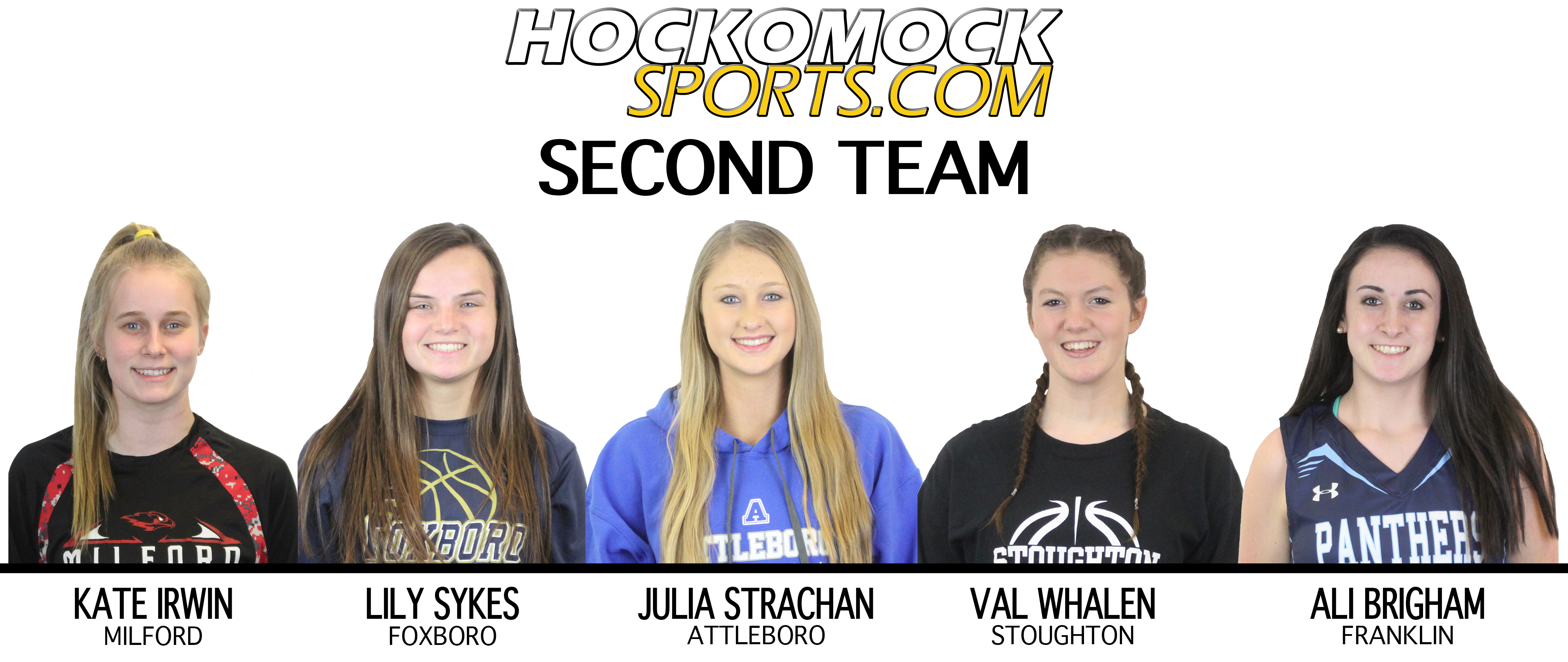 HockomockSports.com Second Team - Girls Basketball