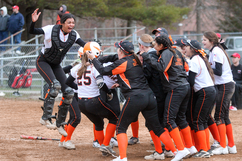 Taunton softball