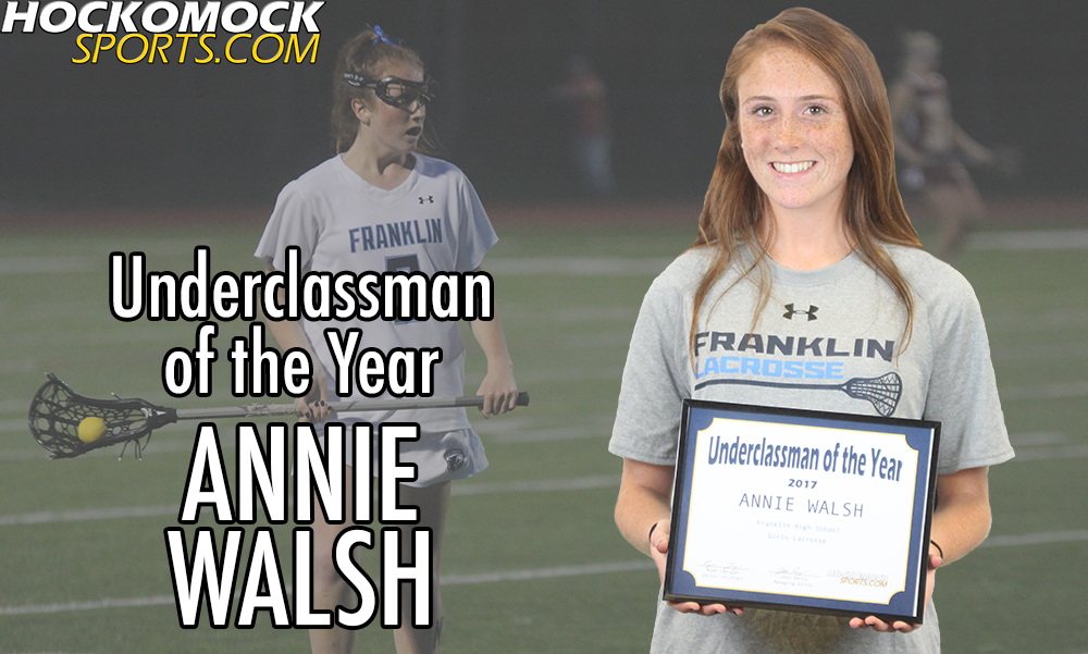 Underclassman of the Year - Franklin sophomore midfielder Annie Walsh