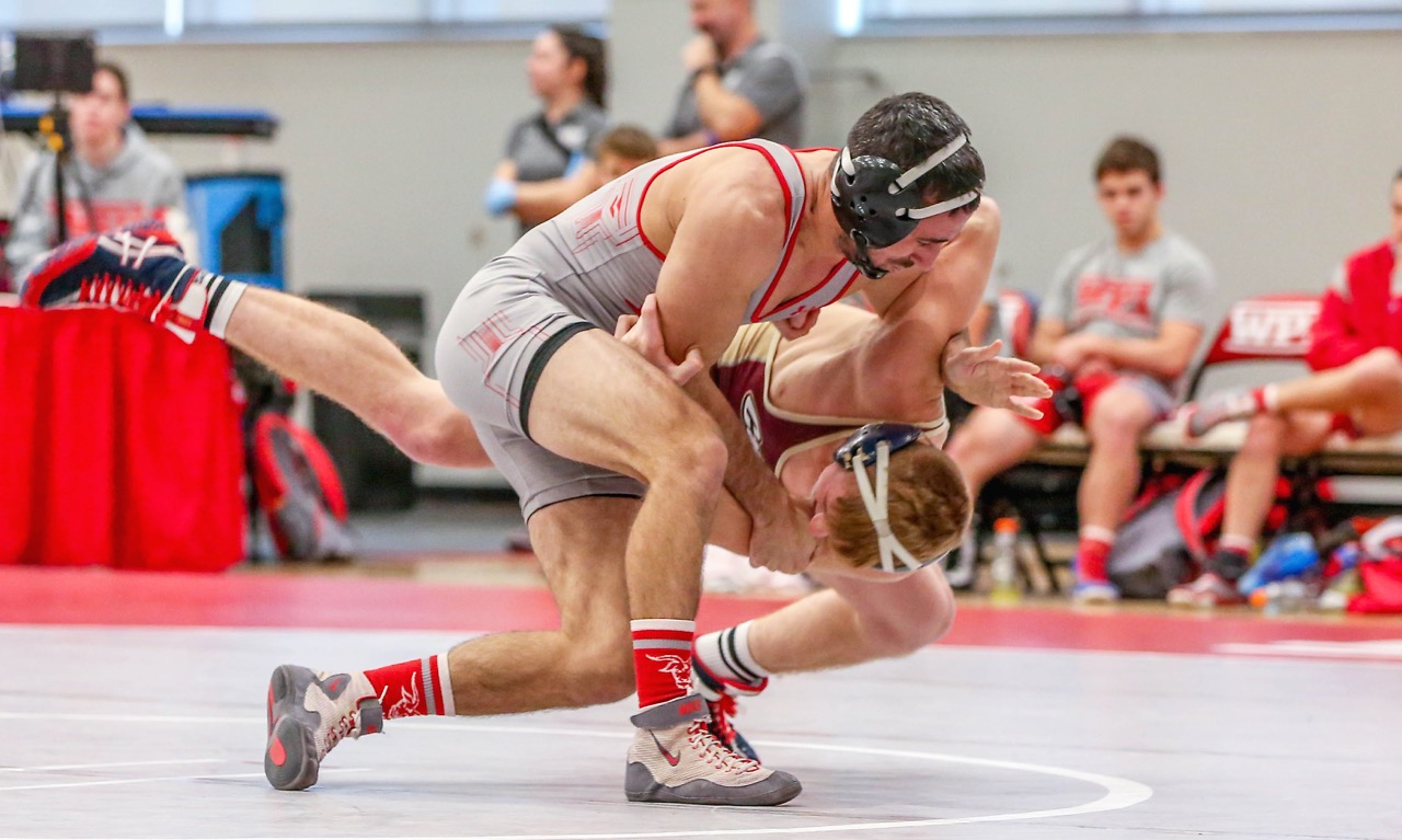Former Franklin standout Ben Zogby has come back from a series of injuries to be a captain for the WPI wrestling team during his final season for the Engineers. (WPI Athletics)