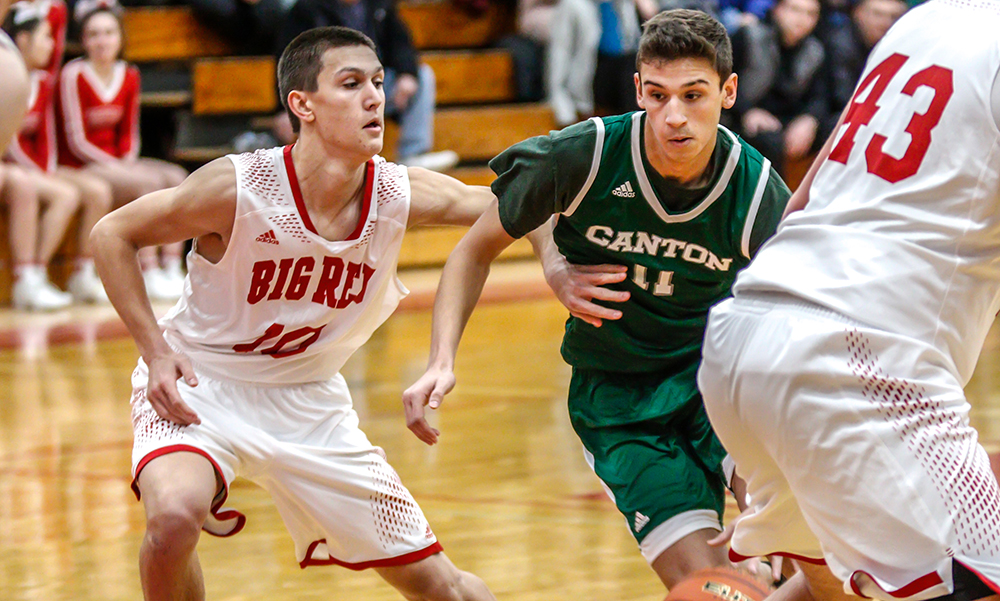 Canton boys basketball