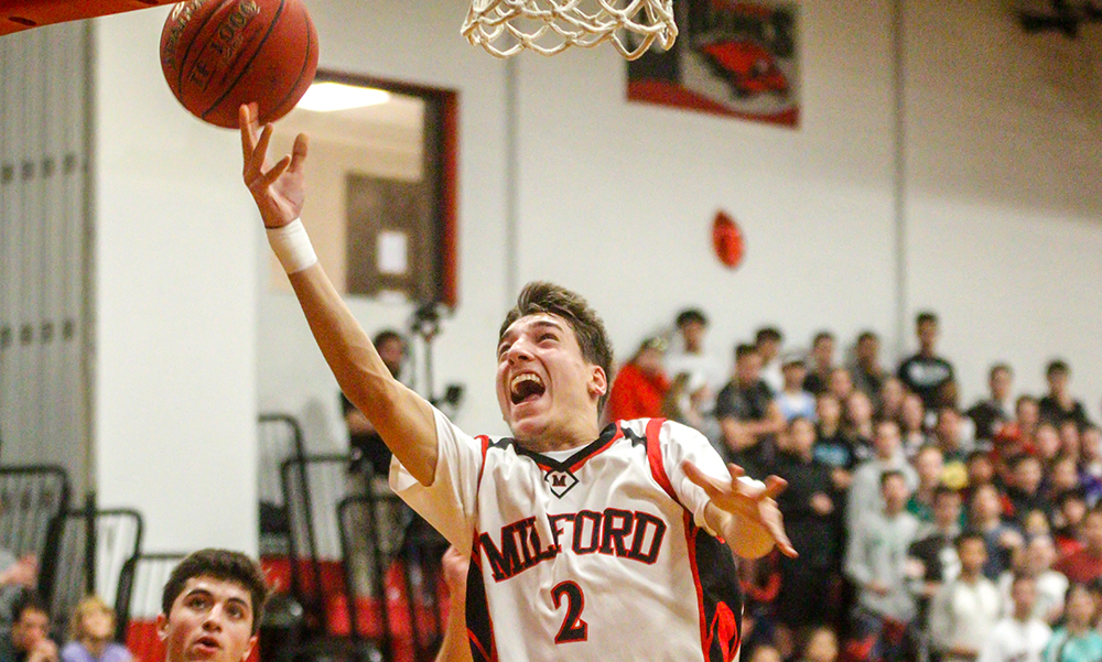 Milford boys basketball