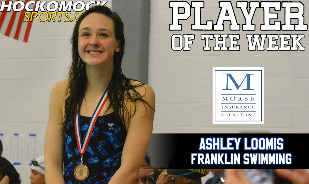 Ashley Loomis selected as HockomockSports.com Player of the Week