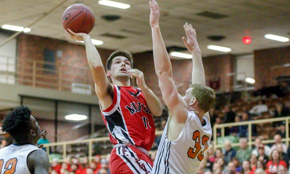 Milford boys basketball