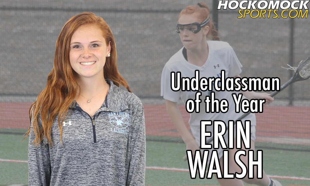 Erin Walsh has been named the 2018 HockomockSports.com Girls Lacrosse Underclassman of the Year