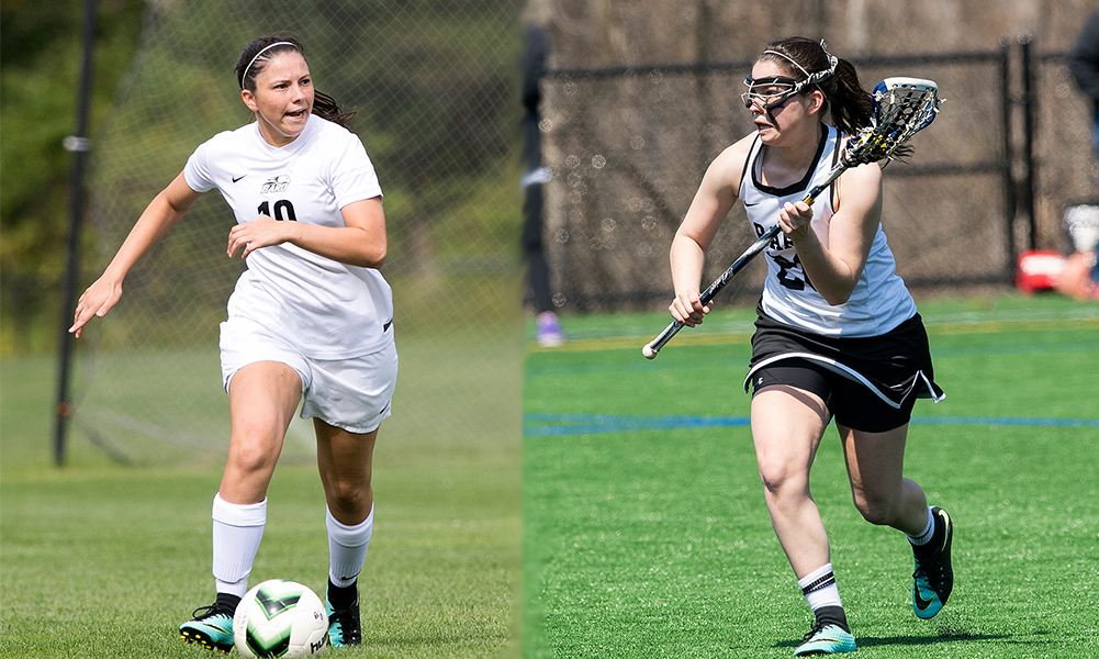 Franklin grad Nicole Ellin has played almost every game in her four years for the Bard College women's soccer and lacrosse teams. (Bard College Athletics)