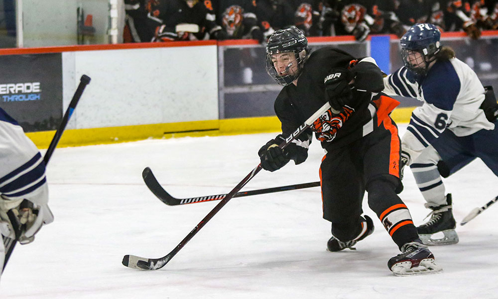 Oliver Ames boys hockey Bryan Kearns