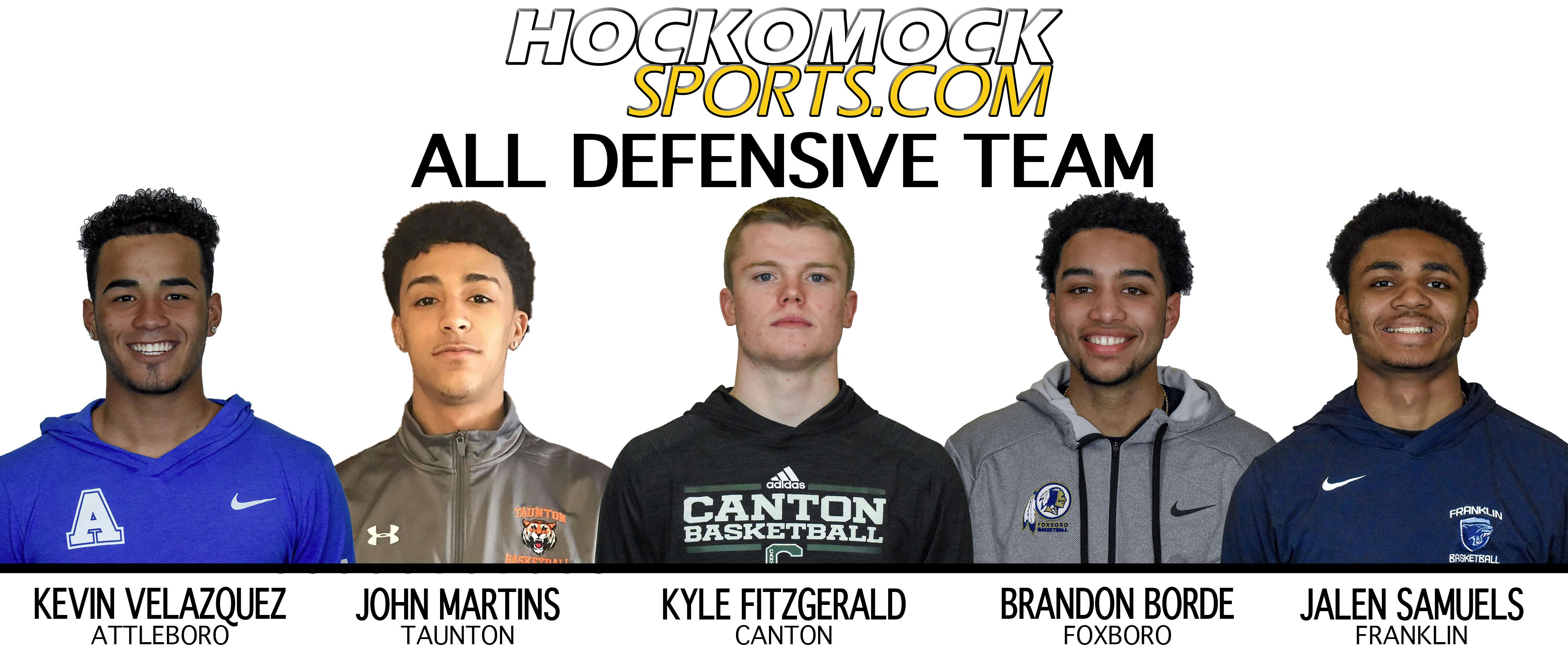 2019 HockomockSports Boys Basketball Awards