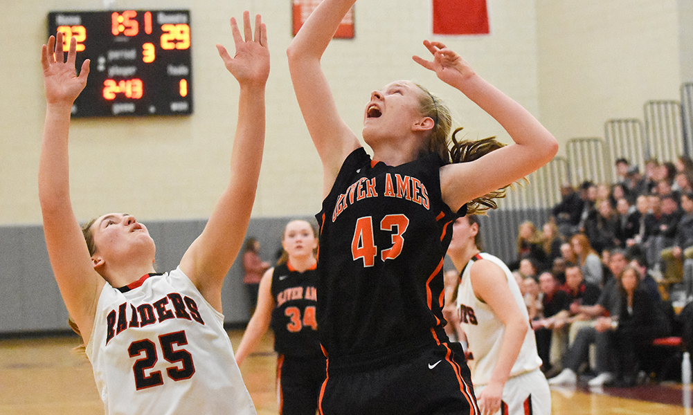 Oliver Ames girls basketball