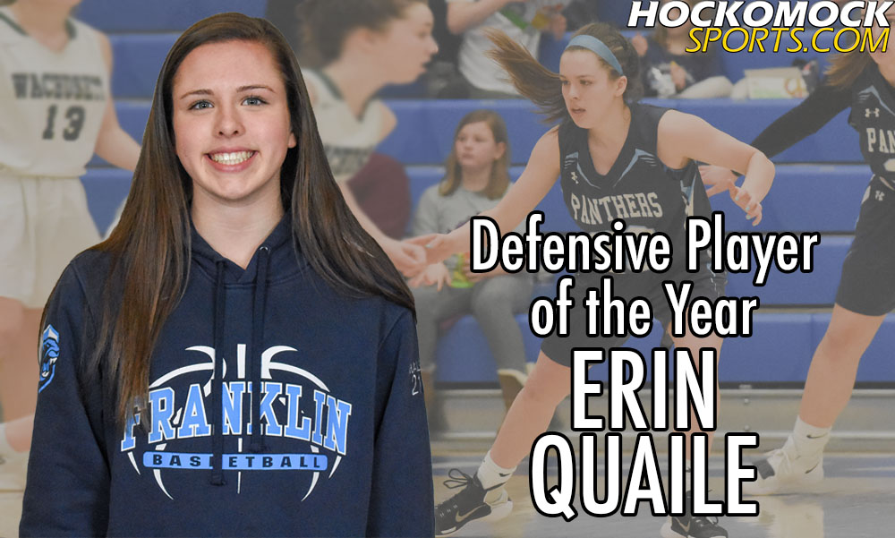 Franklin sophomore guard Erin Quaile