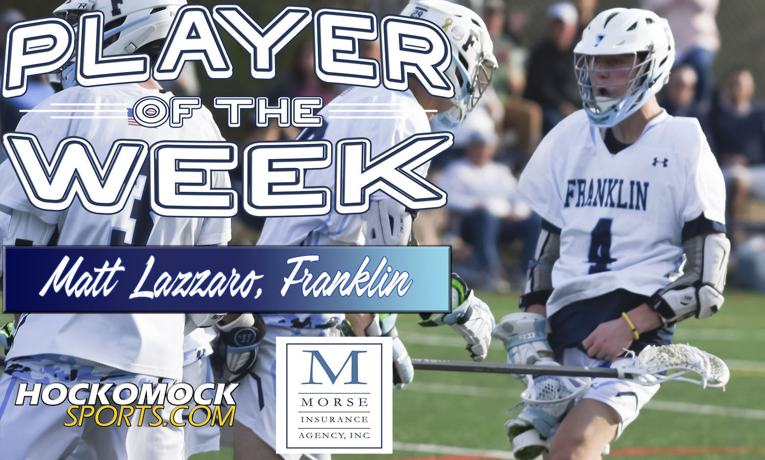 FHS Lazzaro selected as the HockomockSports.com Player of the Week (HockomockSports.com photo)