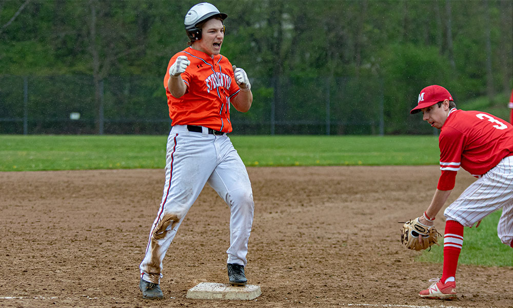 Stoughton baseball Jacob Kaplan