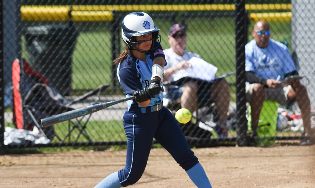 Gabby Colace reached base three times and scored a pair of runs, as Franklin pulled out a 7-6, come from behind win against Attleboro on Sunday morning. (Josh Perry/HockomockSports.com)