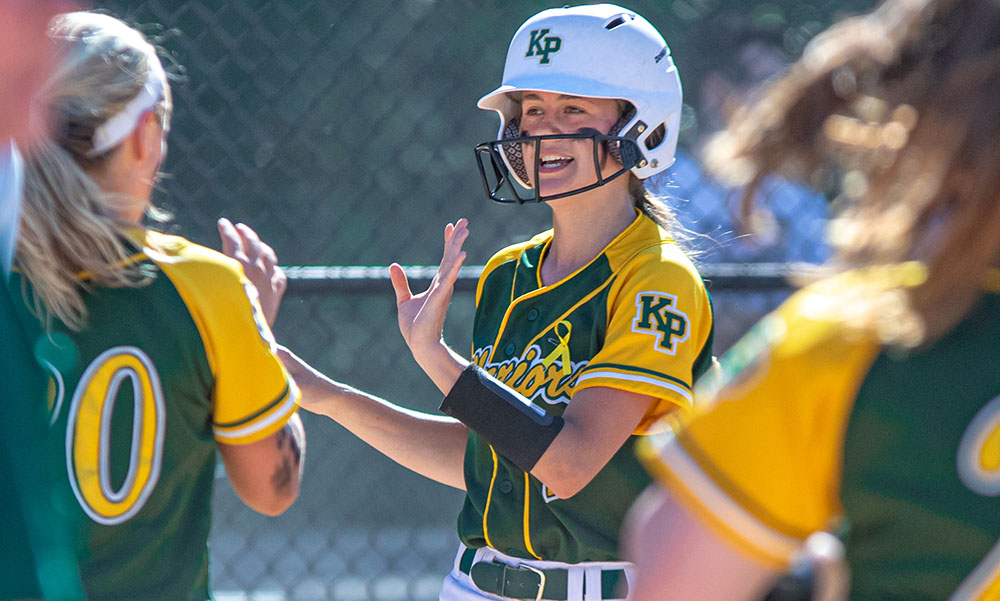 King Philip softball Ryann Stagg
