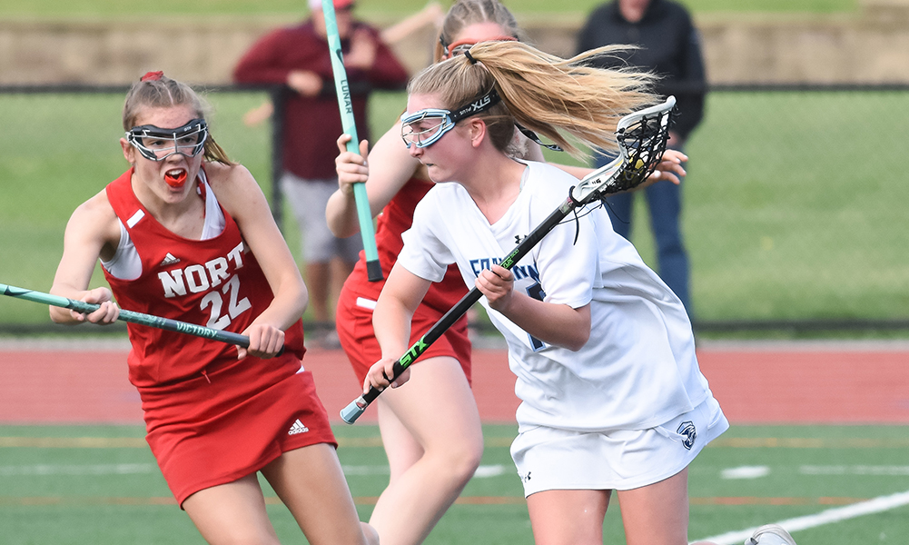 Franklin continued its dominance against Hockomock League teams, rolling to a 20-1 victory over North Attleboro in the first round of the playoffs. (Josh Perry/HockomockSports.com)
