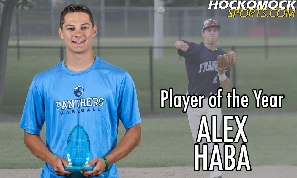 Alex Haba = 2019 HockomockSports.com Baseball Player of the Year